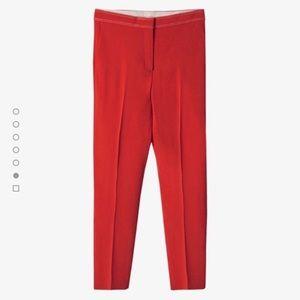 Massimo Dutti Pants & Jumpsuits - Massimo Dutti slim fit coral trousers